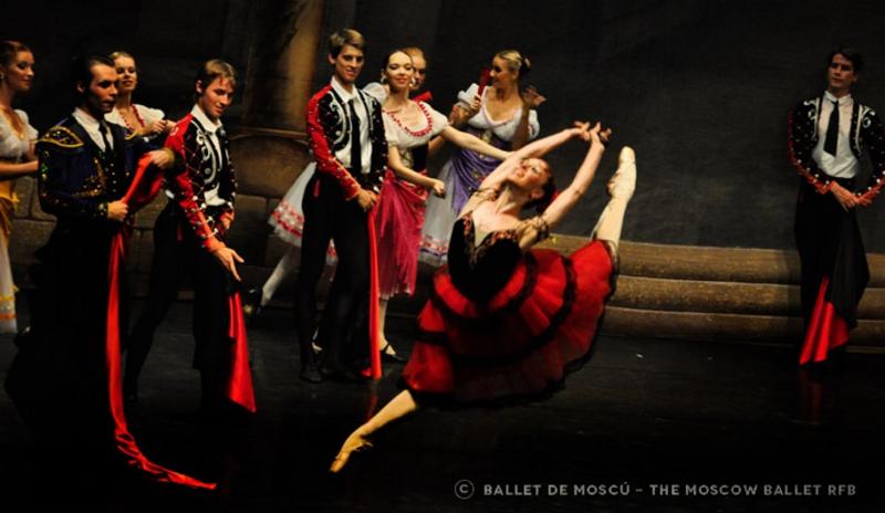 RFB Ballet de Moscú's Don Quijote in Los Cristianos