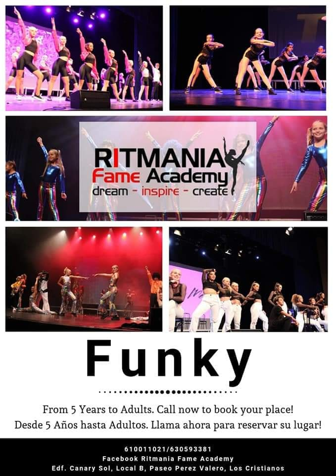 Ritmania Funky Dance Classes