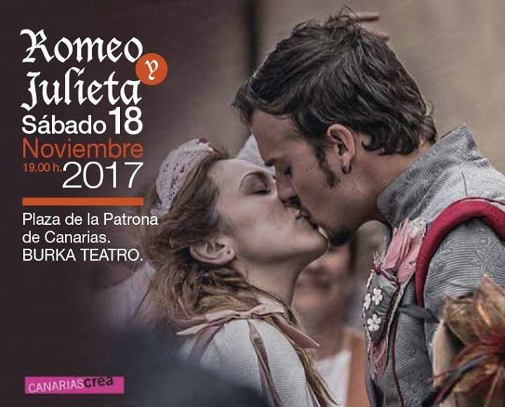 Romeo y Julieta. Teatro en la calle