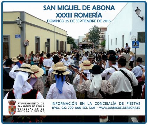 Romeria San Miguel de Abona