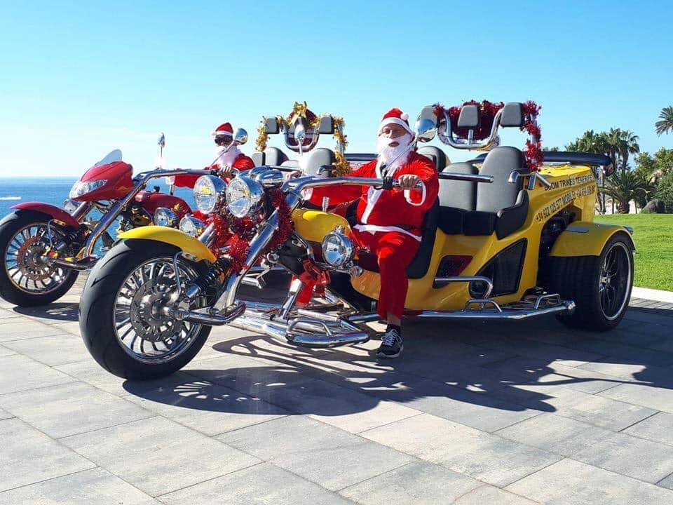 Santa Trike Ride