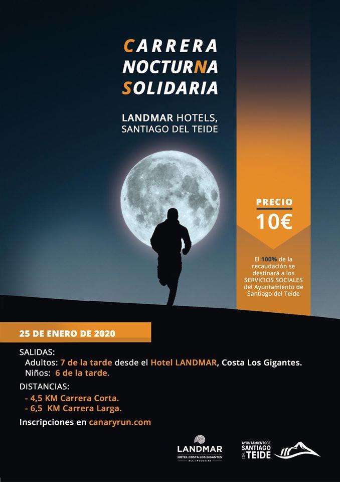 Los Gigantes Night Run for Solidarity