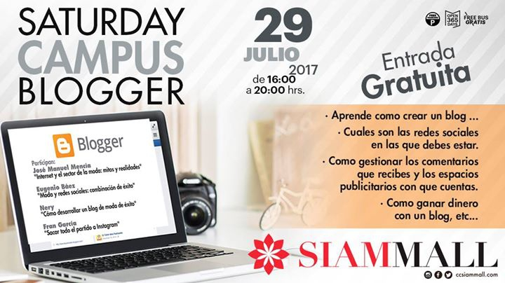 Saturday Campus Blogger en Siam Mall