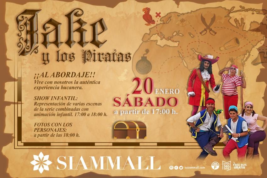 Show Jake y los Piratas