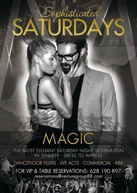 Sophisticated Saturdays at Magic Lounge Club