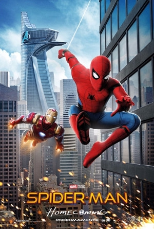 Spiderman Homecoming in English at GranSur Cinema