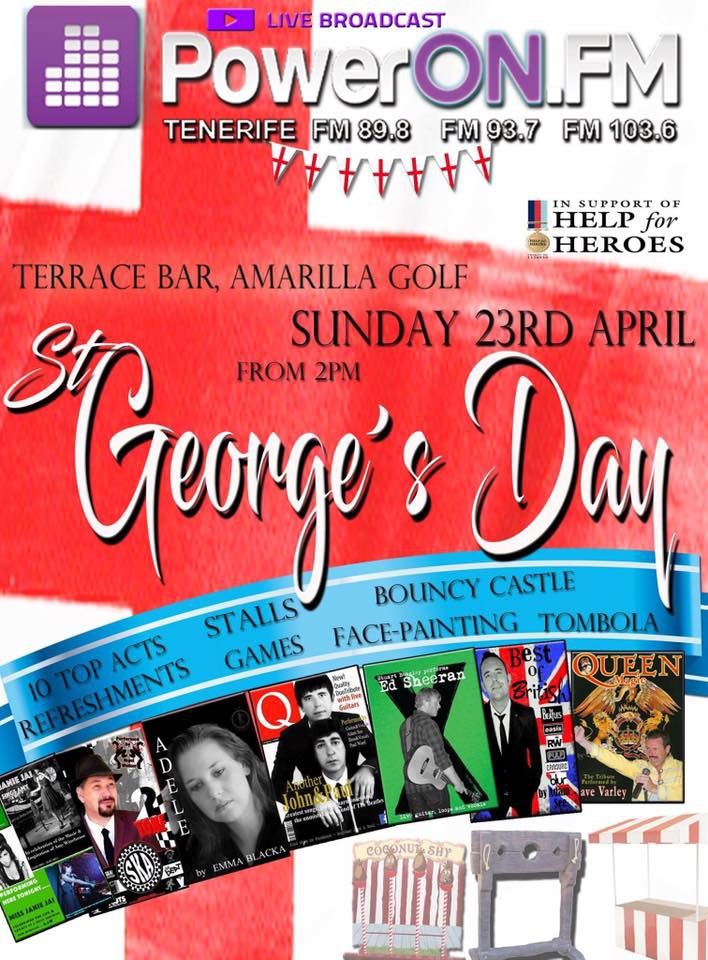 St George's Day at Terrace Bar