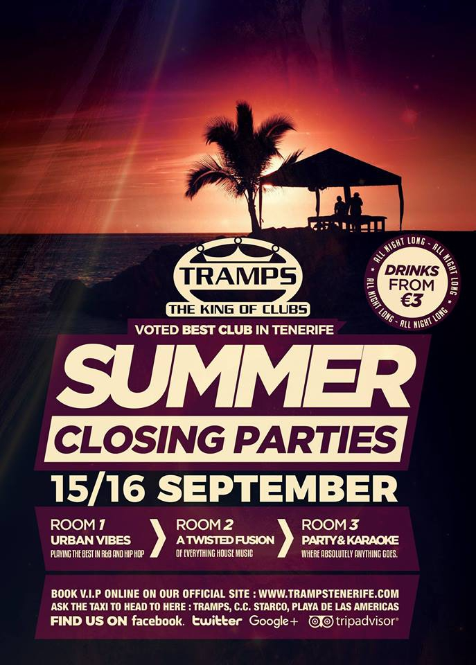 Summer Closing Parties