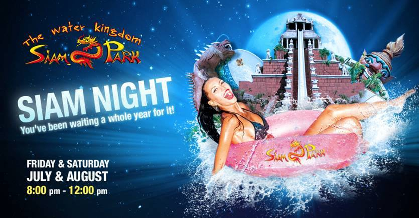 Summer Nights at Siam Park