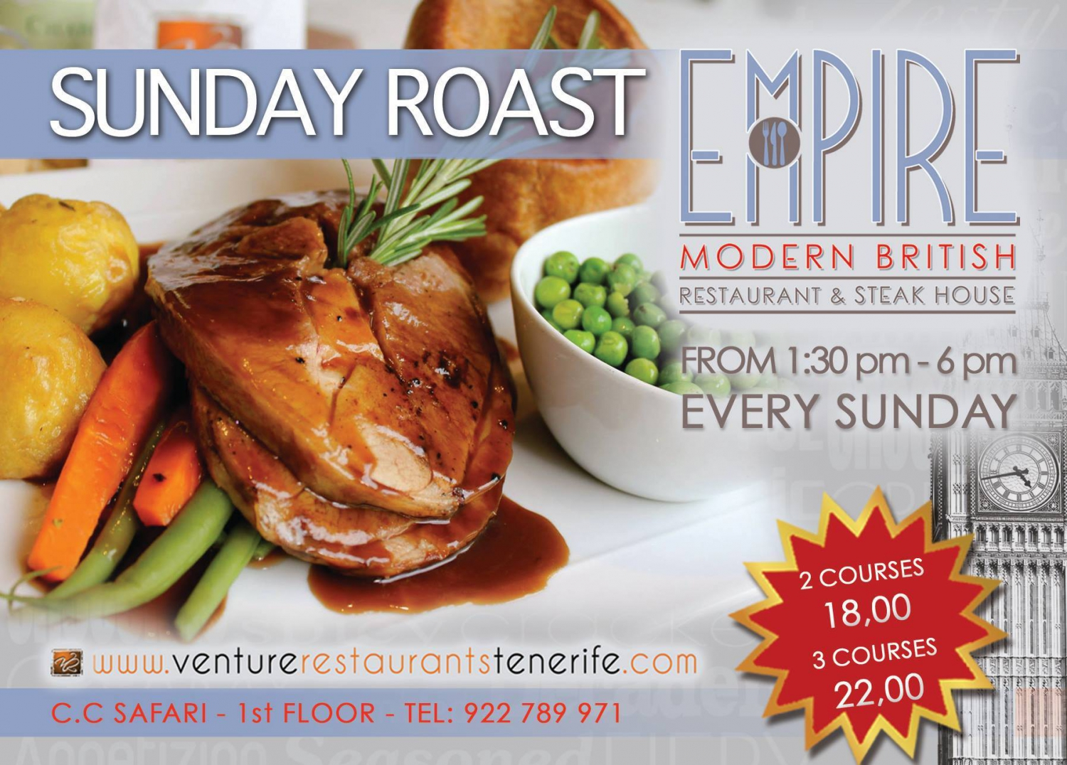 Sunday Roast @ Empire