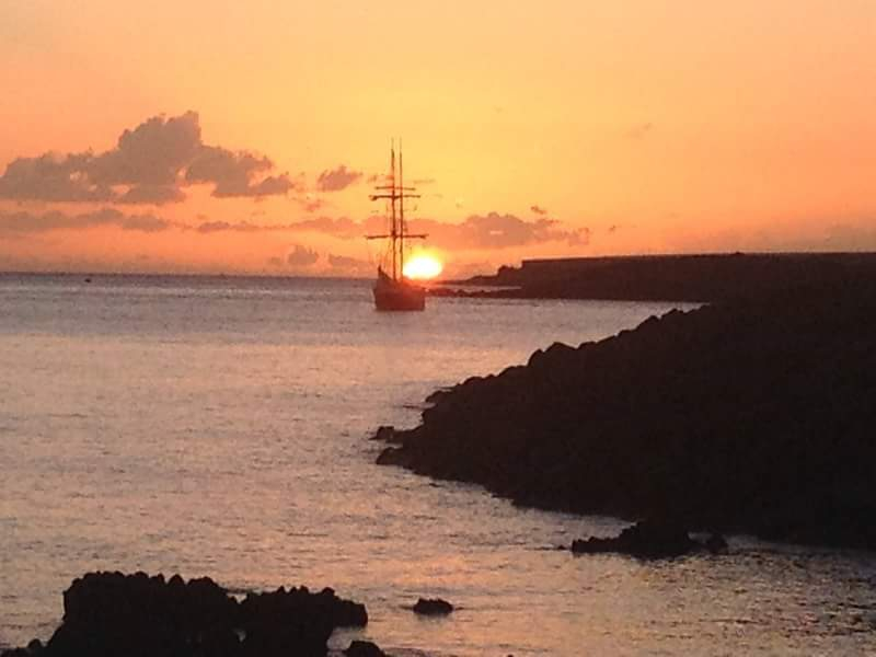 Sunset Sailing on board a Traditional Tall Ship