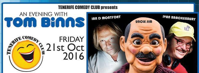 Tenerife Comedy Club ft Tom Binns and his characters!