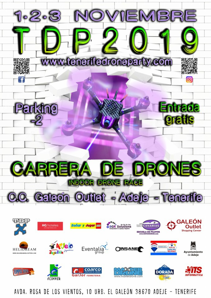 Tenerife Drone Party