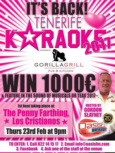 Tenerife Loves Karaoke Competition