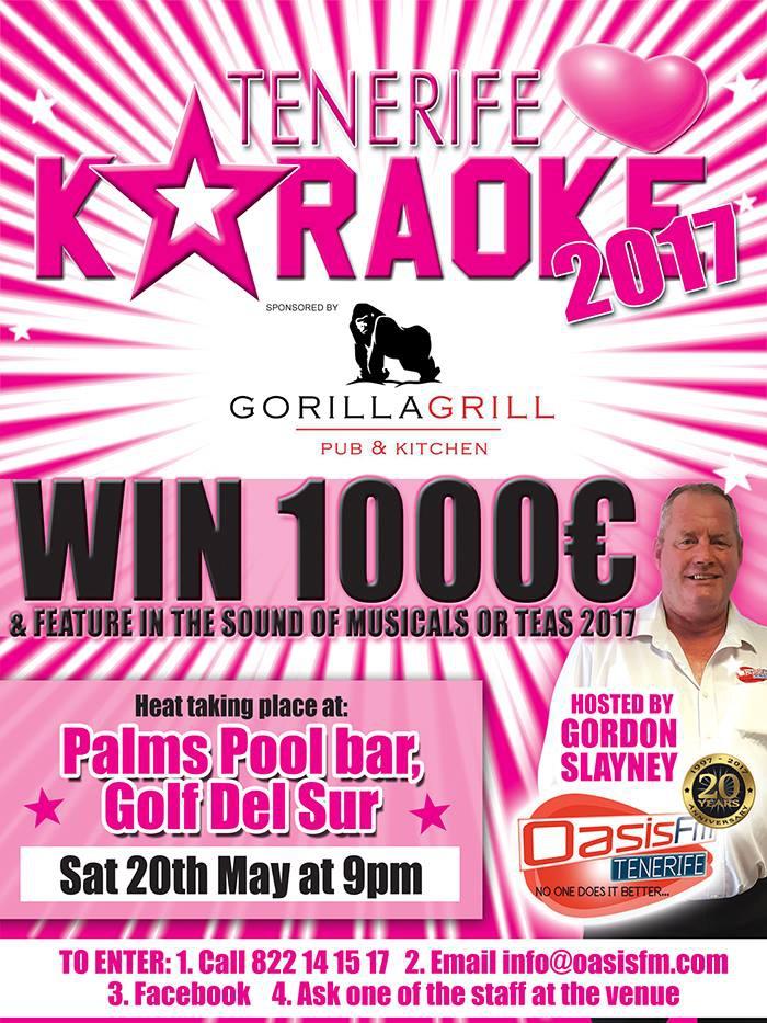 Tenerife Loves Karaoke in Golf del Sur