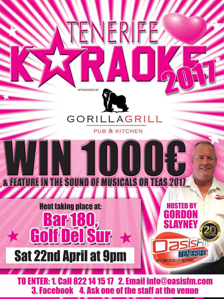 Tenerife Loves Karaoke - Next Heat