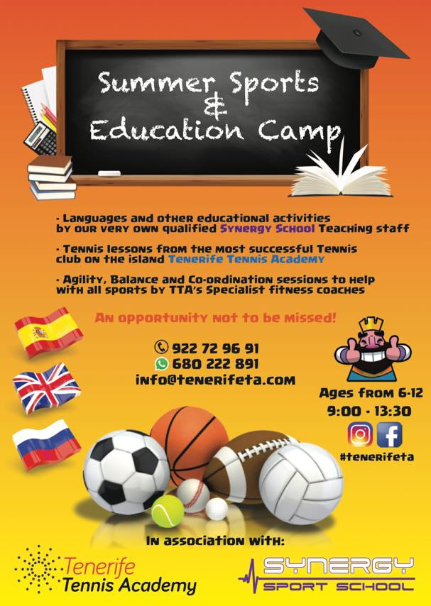 Tennis Academy Summer Camp