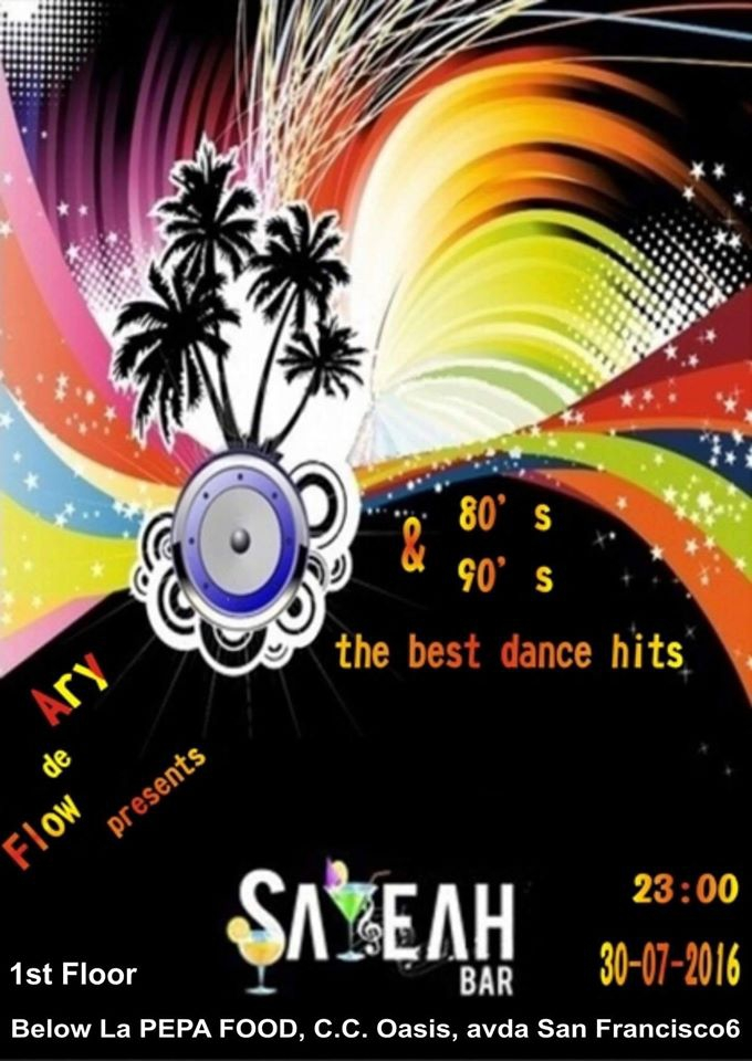 The Best Dance Hits @ Sayeah Bar