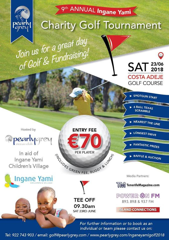 The Ingane Yami Golf Charity Golf Tournament