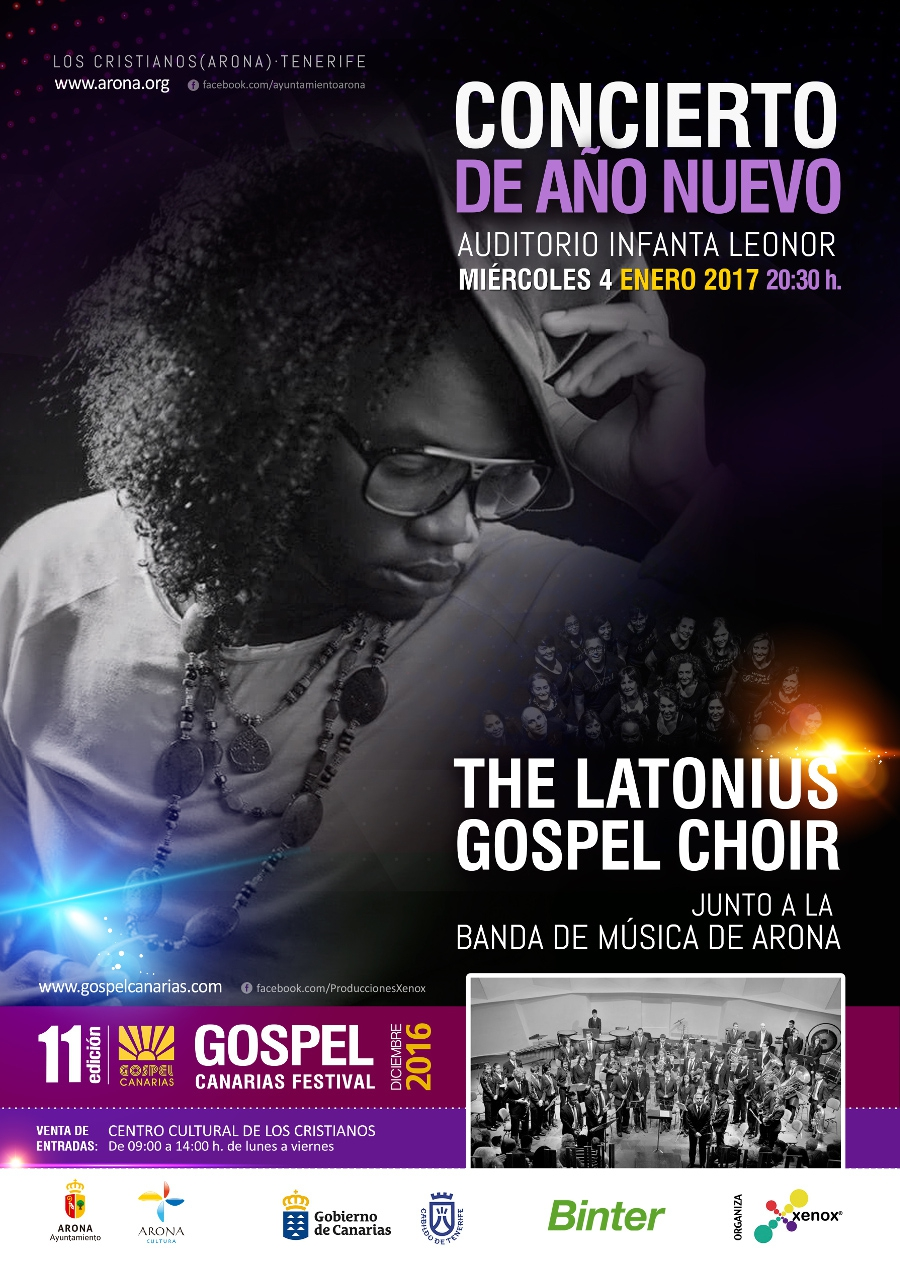 The Latonius Gospel Choir in Los Cristianos