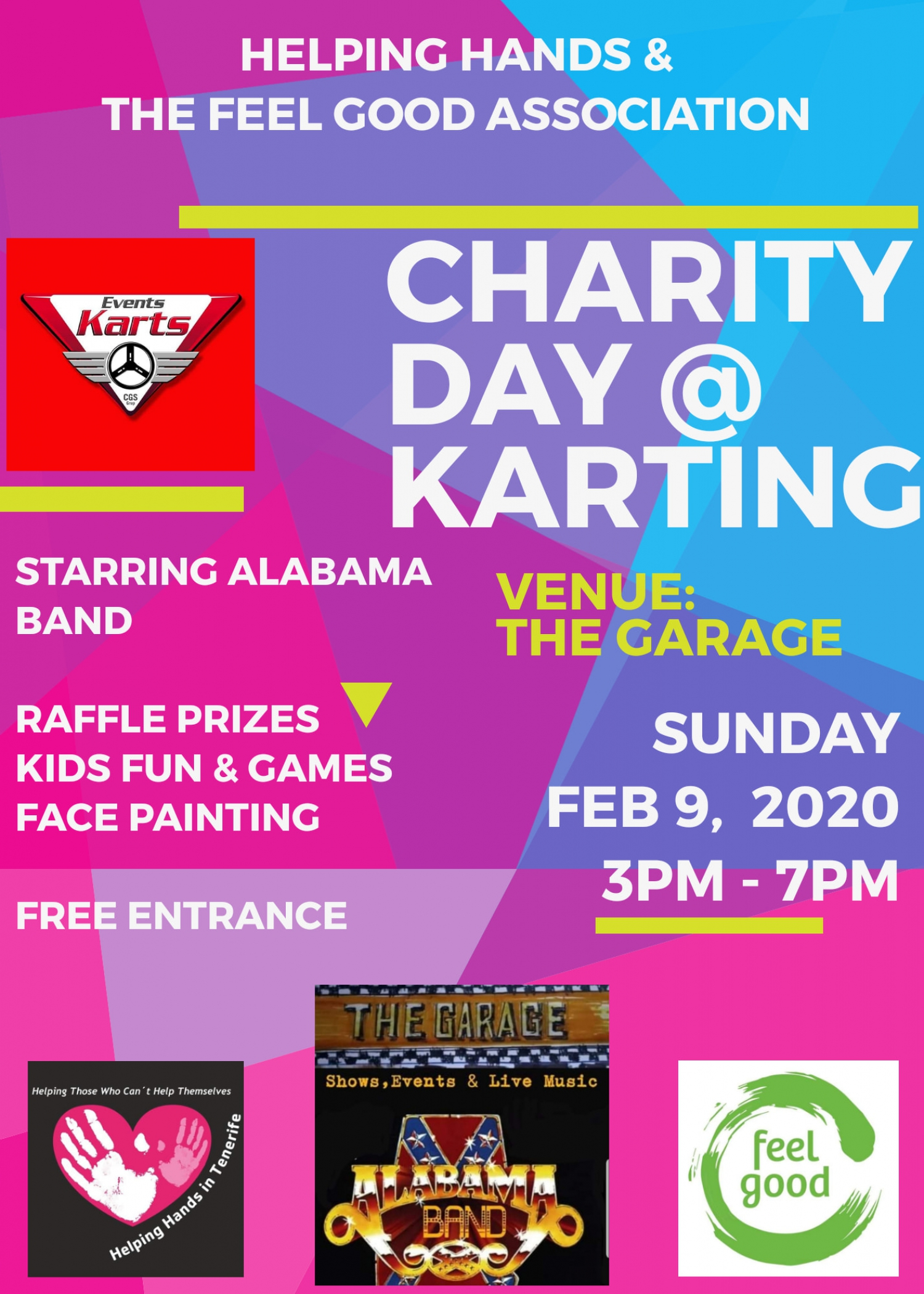 The New Karting Las Americas Charity Day