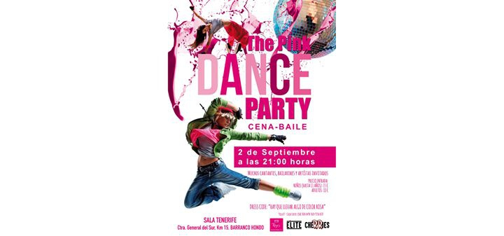 The Pink DANCE PARTY, Cena Baile Cherries & Élite