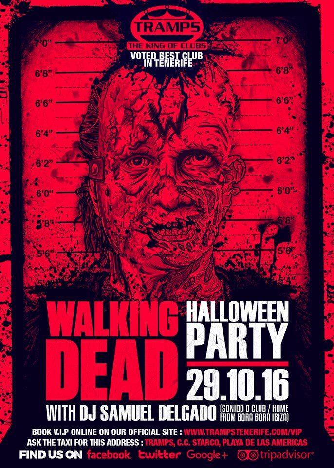 The Walking Dead Halloween Party