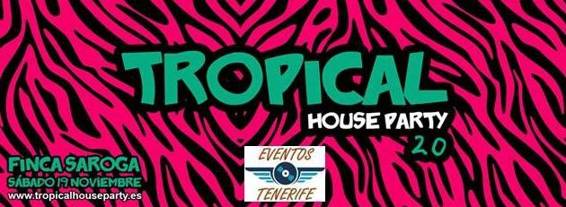 Tropical House Party in Santa Cruz