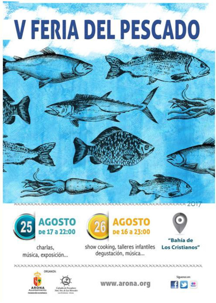 V Fish Fair of Los Cristianos