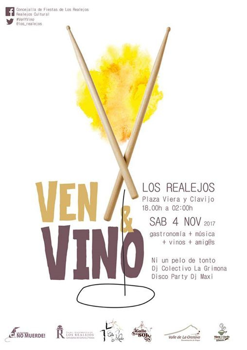 Ven & Vino 2017 en Los Realejos