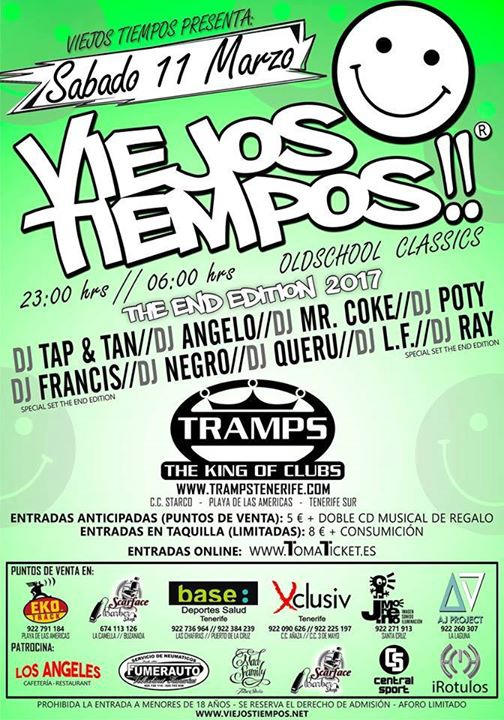 Viejos Tiempos Tramps Tenerife - The King of Clubs - Main Room