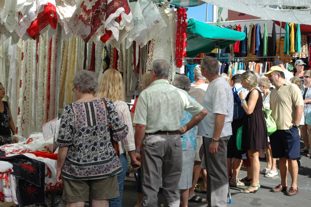 Tuesday and Sunday Market in Los Cristianos