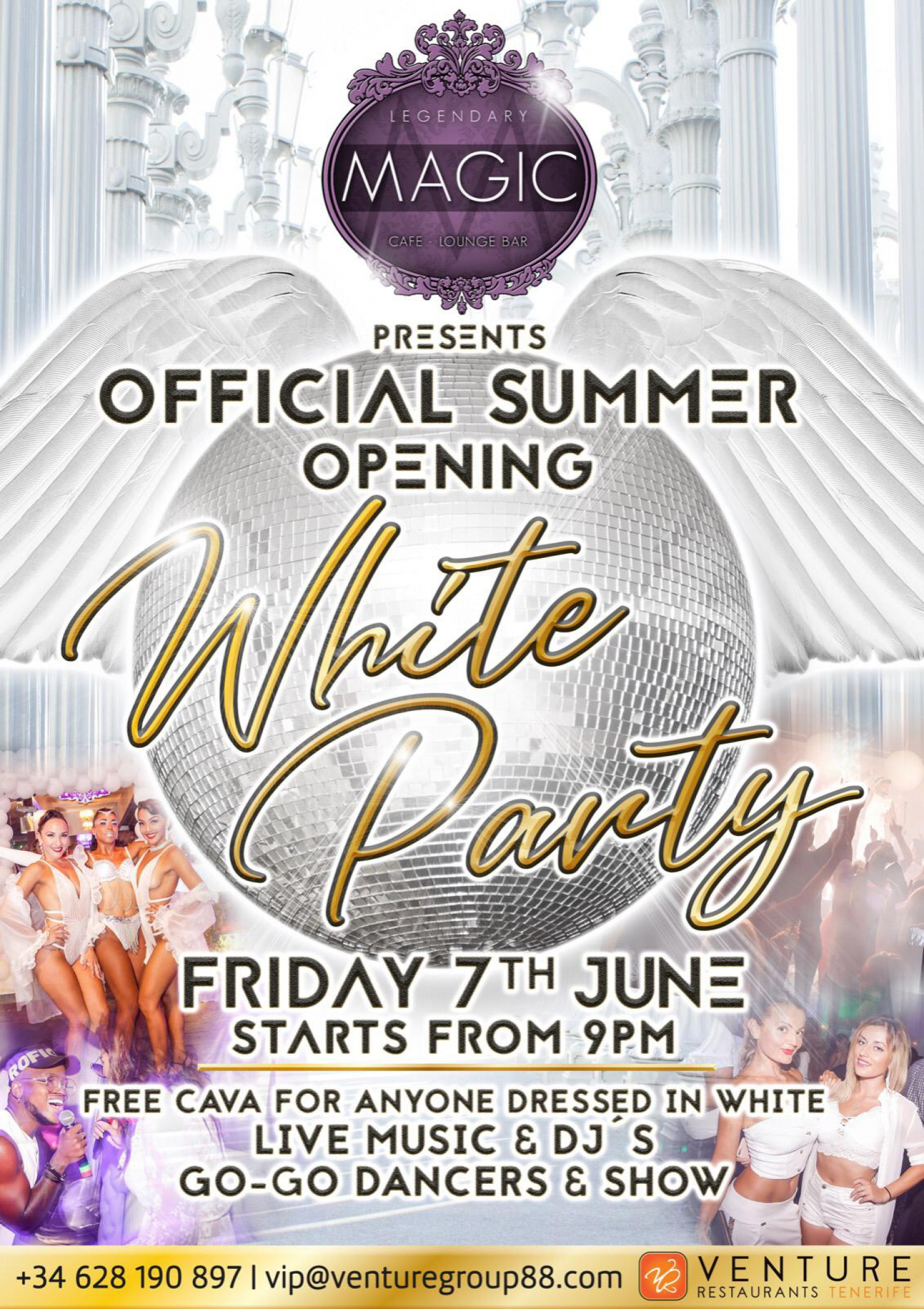White Party at Magic Lounge Club