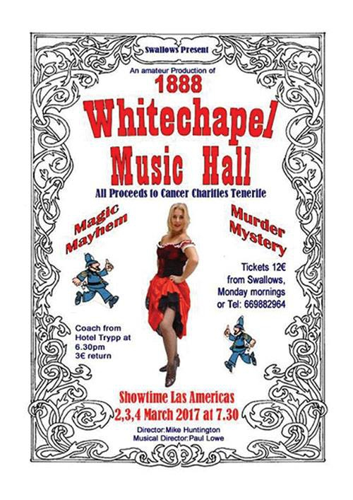 Whitechapel Music Hall Production