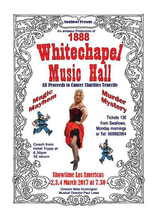 Whitechapel Music Hall Production