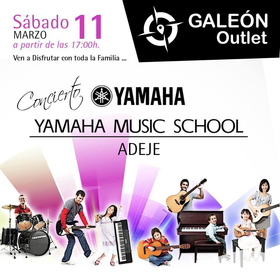 Yamaha Music School Show in el Gaelon
