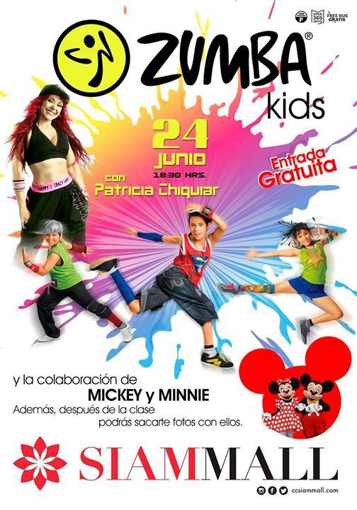Zumba Kids Siam Mall