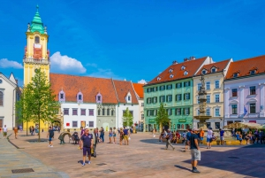 From Bratislava City Tour with Food Options