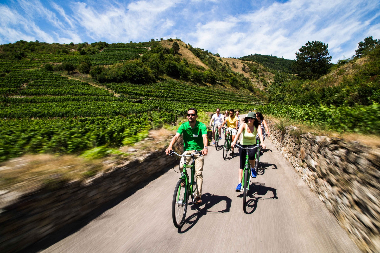 Grape Grazing: Wachau Valley Winery Biking Tour