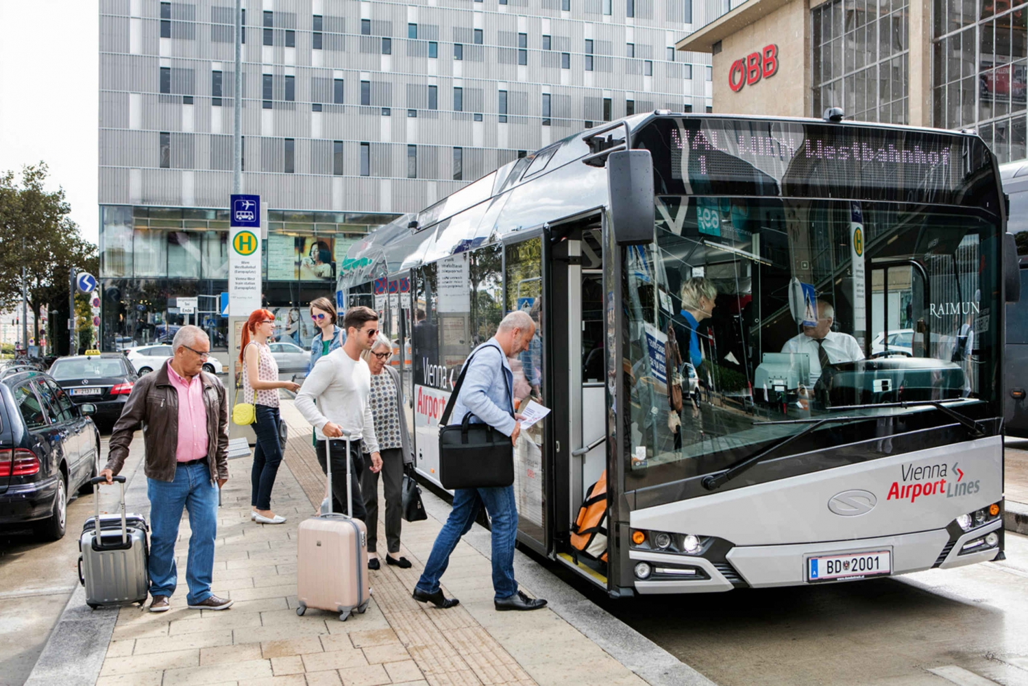 Hop-On Hop-Off Bus and Airport Transfer by Bus