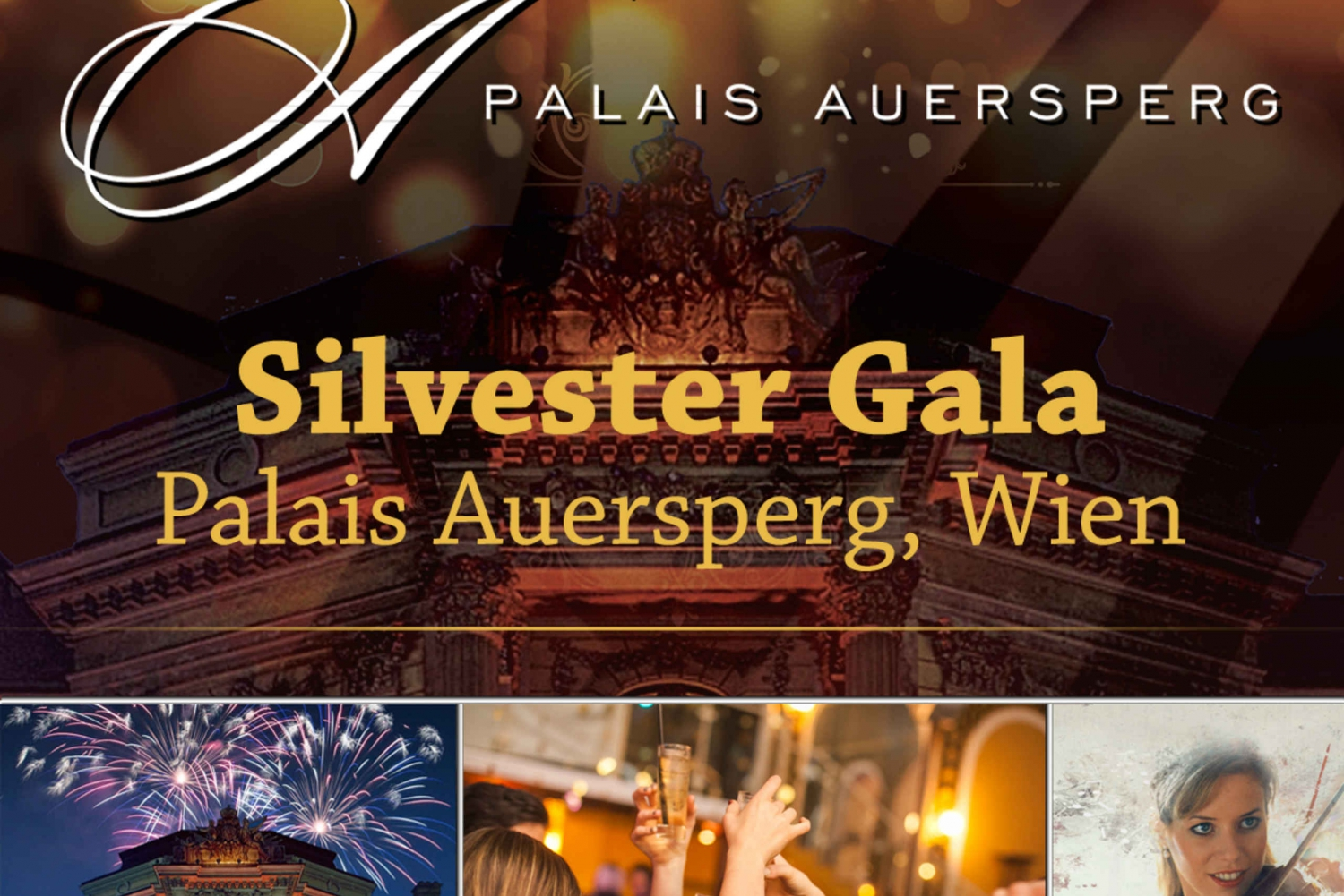 New Year's Eve Gala in Palais Auersperg