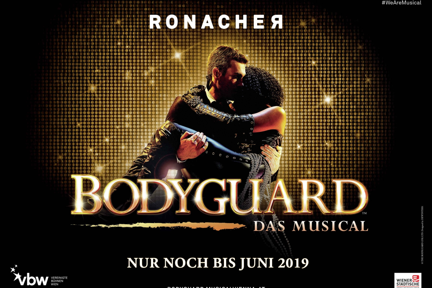 Ticket for BodyGuard - The Musical at Ronacher