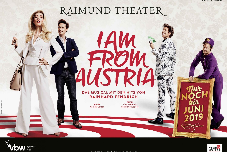 "Ticket ""I am from Austria' at Raimund Theater"