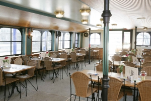 Vienna: Heurigen Cruise with Viennese Songs and Buffet