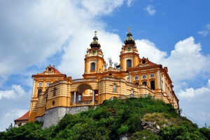 Vienna: Melk Abbey and Salzburg Trip with Private Transfer