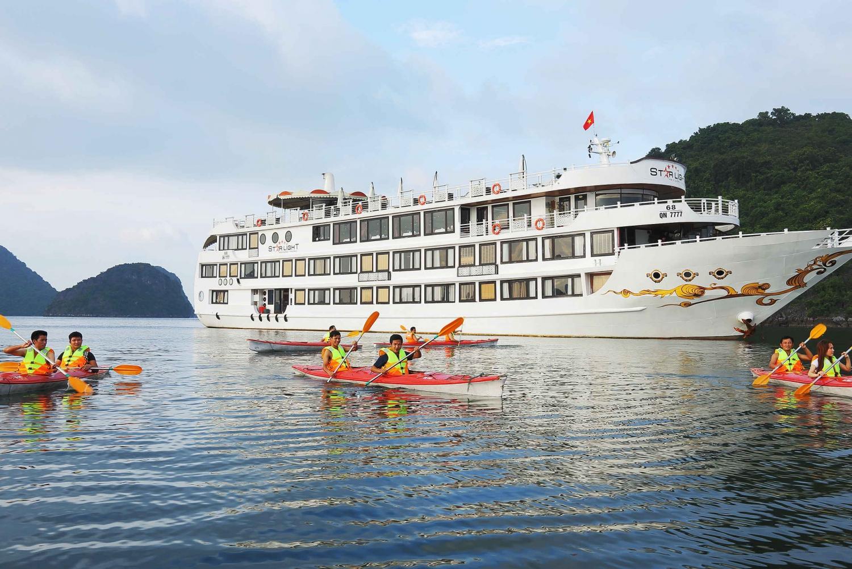 Bai Tu Long Bay: 2-Day 5-Star Cruise with Kayak