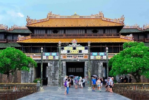 Chan May Port: Self-Guided Hue City Tour by Private Car