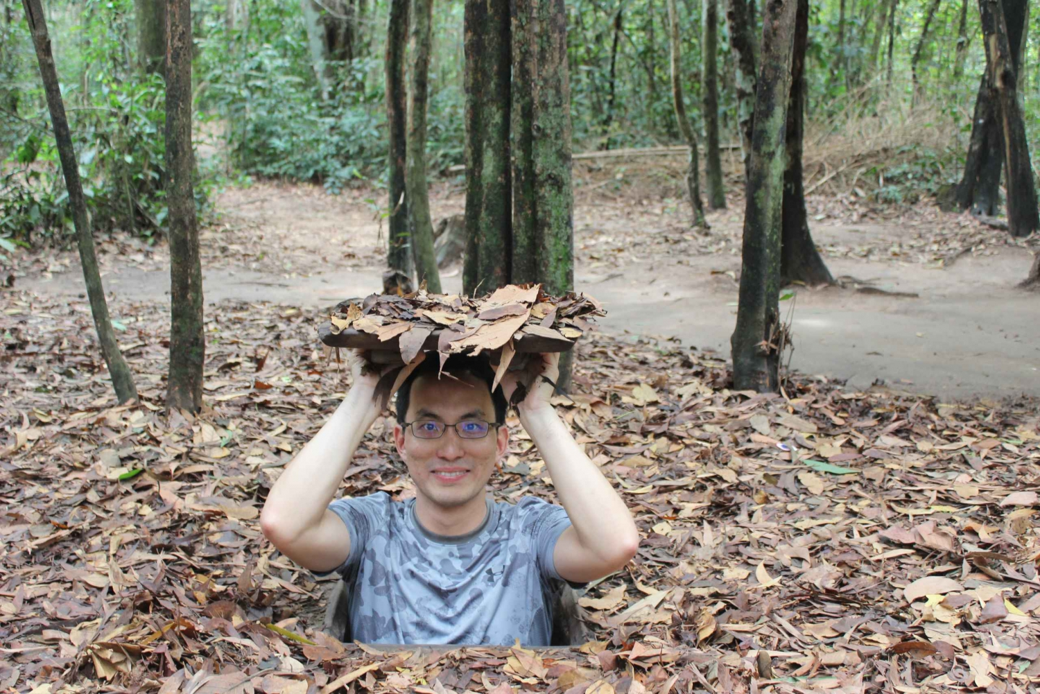 Cu Chi Tunnels and Saigon City Private Tour