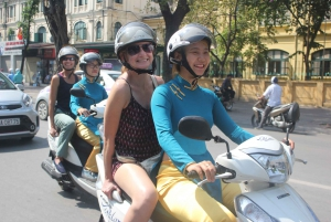 Explore Amazing Ancient Hanoi Like a Local by Scooter