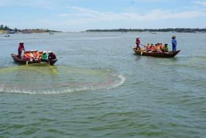 Fishing Village Visit and Fun Basket Boat Ride Tour